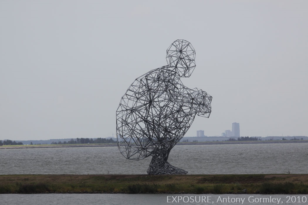 EXPOSURE, Antony Gormley, 2010